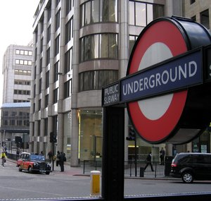 london houses and underground
