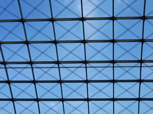 glass roof texture