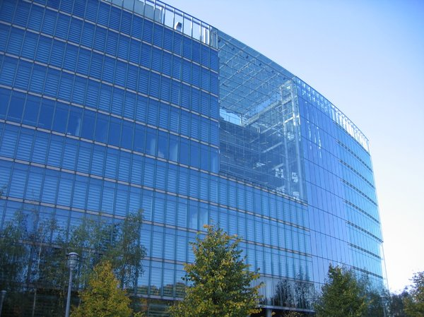 glass office architecture
