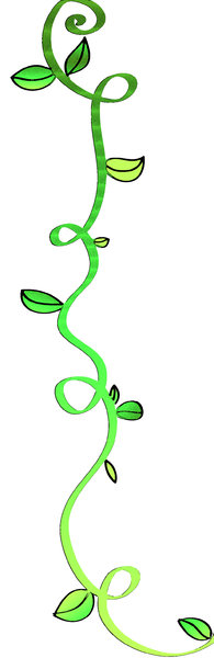 swirly vine: visit my site ozaidesigns.com for more of my free illustrations!green swirly vine with leafs :) **If you are using my designs for online use, i don't want credit... but I would love to see how they are used! So send me a link!**