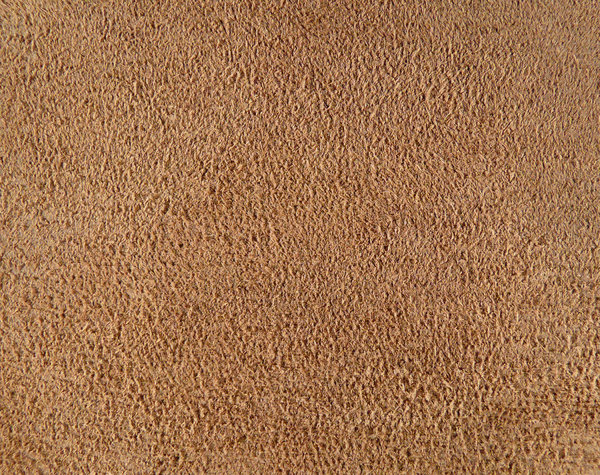 Tan Leather Rough Side: A close-up texture of a leather swatch.