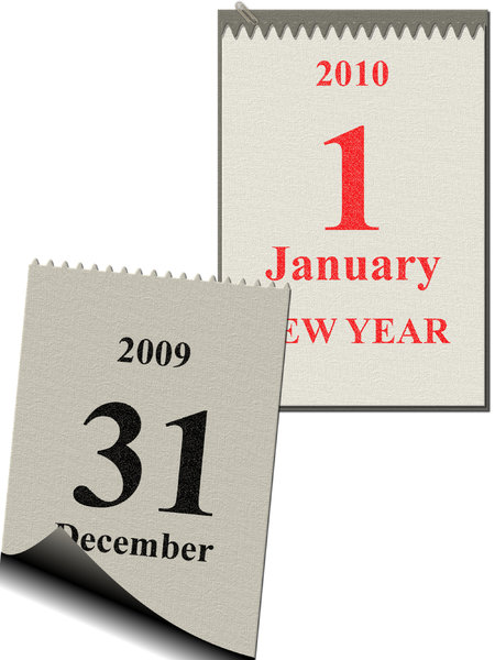 new year's calendar 1: the last day of the year