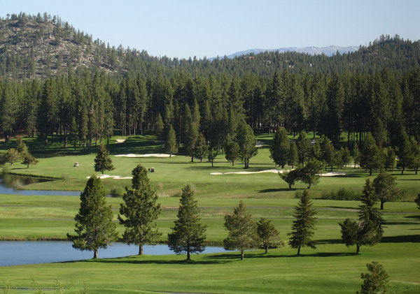 Lake Tahoe's golf course