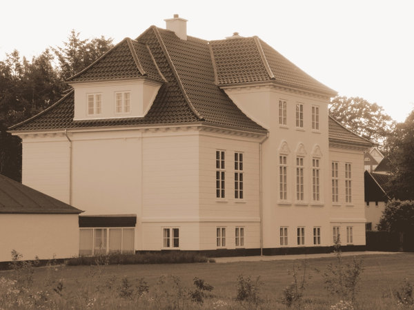 Manor House in Sepia