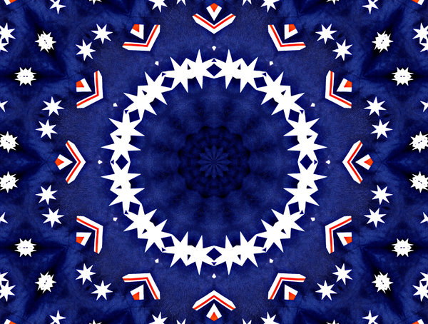 star flag circle: abstract backgrounds, textures, patterns, kaleidoscopic patterns, circles, shapes and  perspectives from altering and manipulating images
