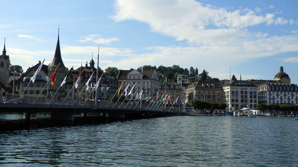 Lake Lucerne: Some shots of Lake Lucerne, Switzerland on Swiss National Day, 2010.
