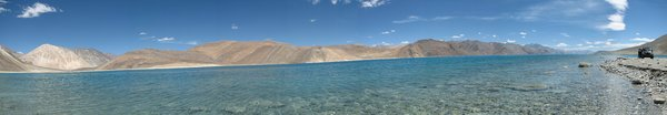 Pangong Lake - Panorama: no description