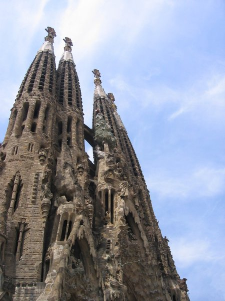 sagrada familia: Barcelona, Spain