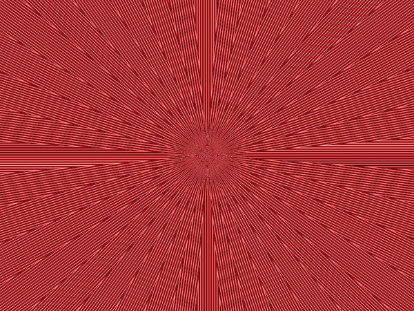 radiating red pulse