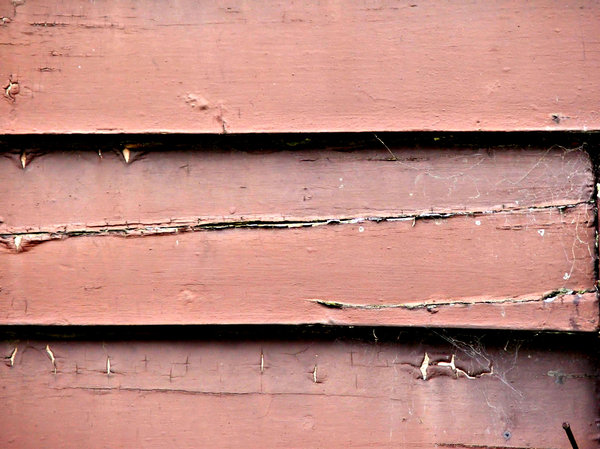 weathered boards: deteriorating weather board wall