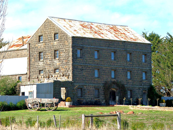 historic old mill: an historic old mill in need of further renovation