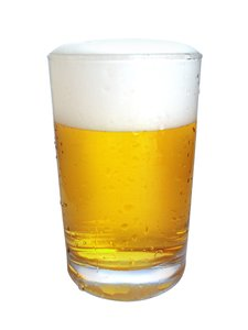 Beer 1: Glass of beer
