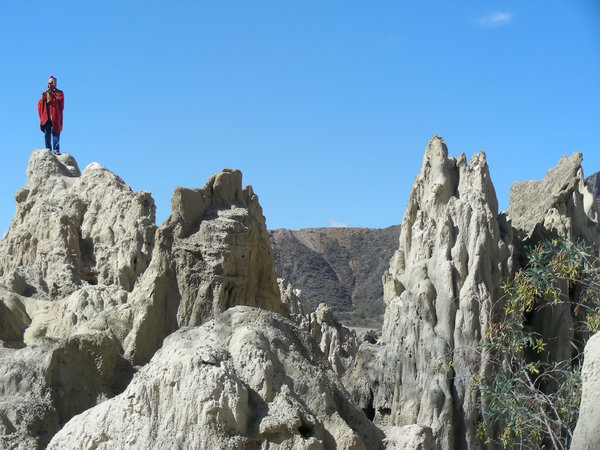 valle de la luna: Moon Valley, Bolivia