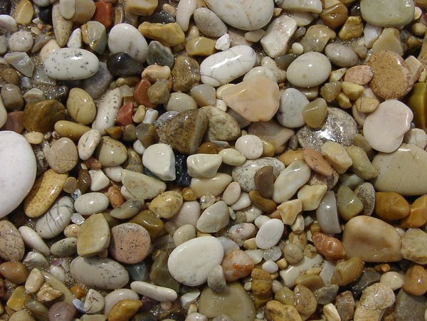 At the beach (pebbles become s: get these beautiful colours of the beach at the Adriatic Sea at Porto Recanati