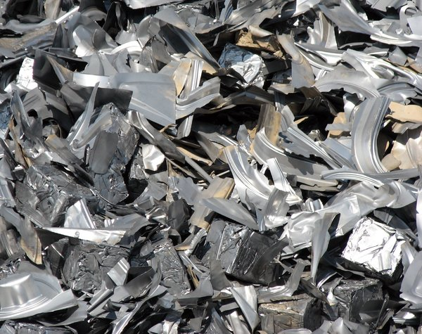 scrap: metal ready to recycle
