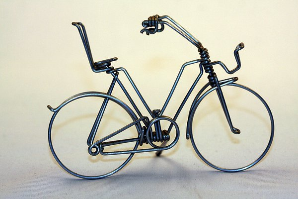Bicycle miniature 1