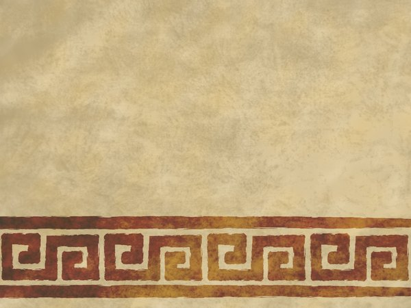 Parchment Scrolls: Digitally rendered parchment background with grungy geometric scrolls.  Lots of copy space.
