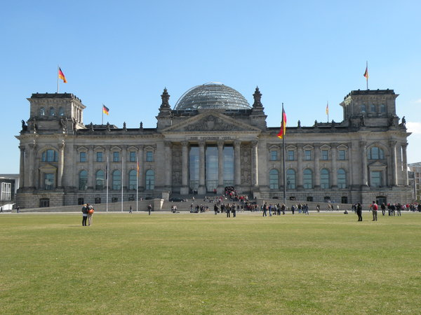 Berlin 2010: Bundestag, Berlin (The German parliament)