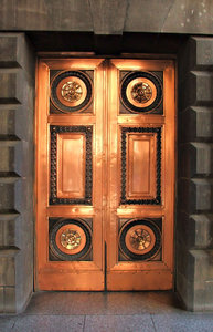 doors of bronze