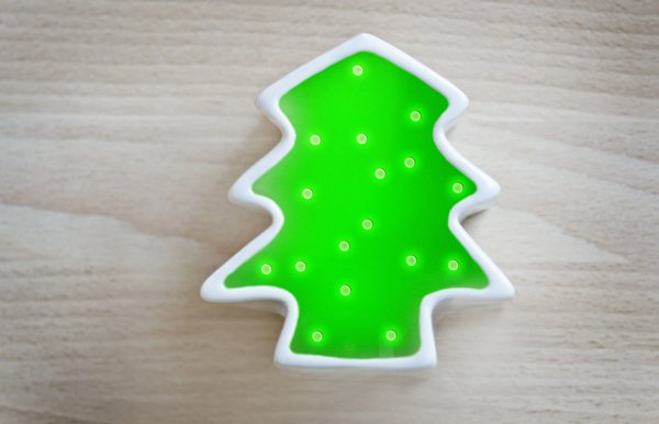 Christmas tree: Christmas shape tree