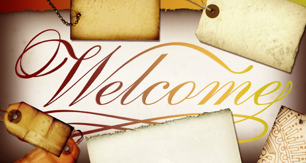 Welcome Banner 4: Variations on a welcome banner.