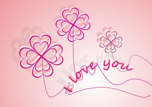 . . . love you flower balloons