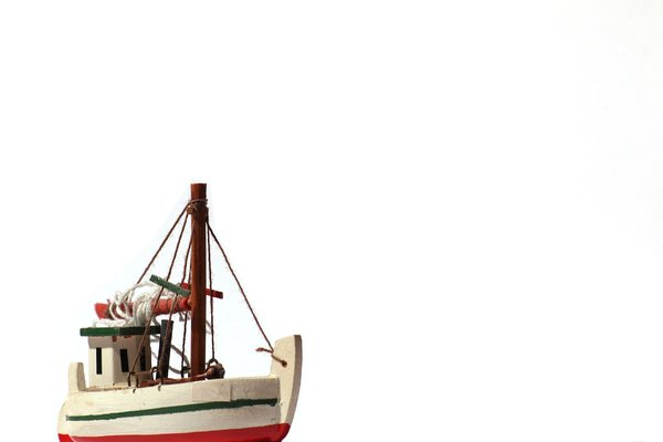 Fishing boat - model