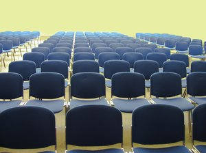 auditorium - lots of chairs