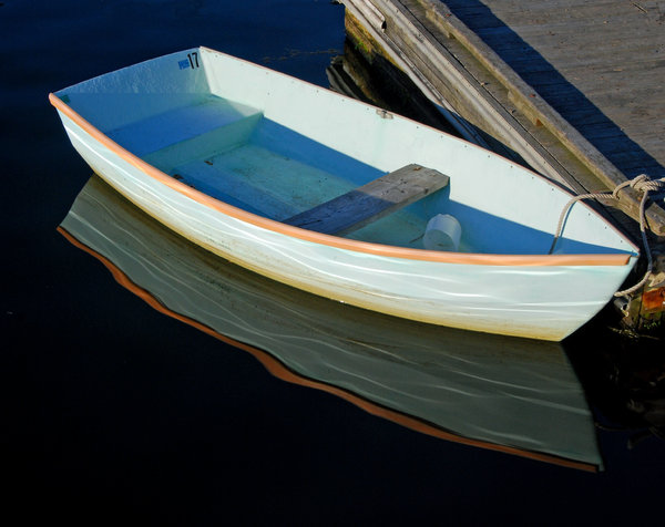 Light Blue Dinghy