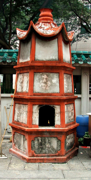 temple joss paper furnaces