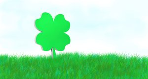 Clover: four leaf clover illustration