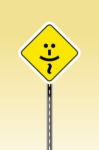 Smile Sign: A simple smile graphic on a sign.Please support my workby visiting the sites wheremy images can be purchased.Please search for 'Billy Alexander'in single quotes atwww.thinkstockphotos.comI also have some stuff atwww.dreamstime.com/Billyruth03_portfolio_pg