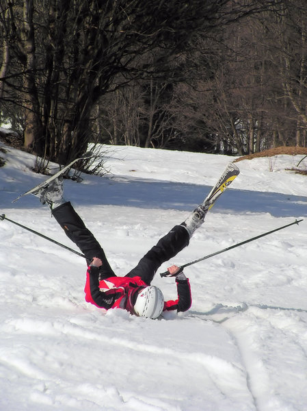 Skying: Trouble on skying