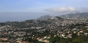 Funchal: Funchal, capital city of Madeira.