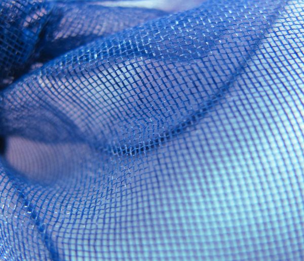 blue texture 1: close-up of a blue fabric