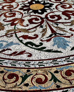 old floor mosaic