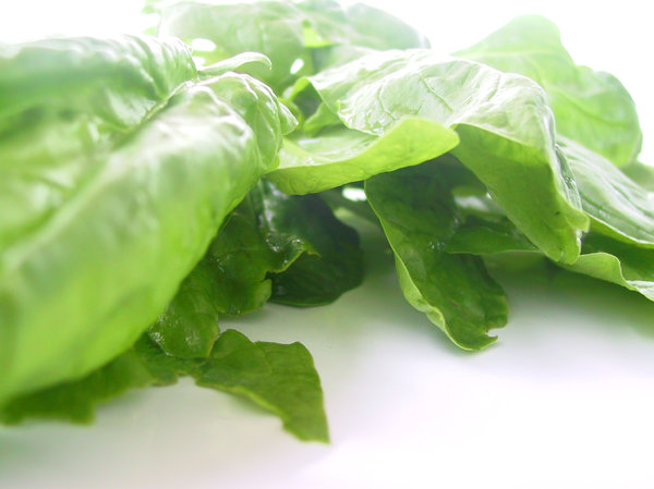spinach: yummy.