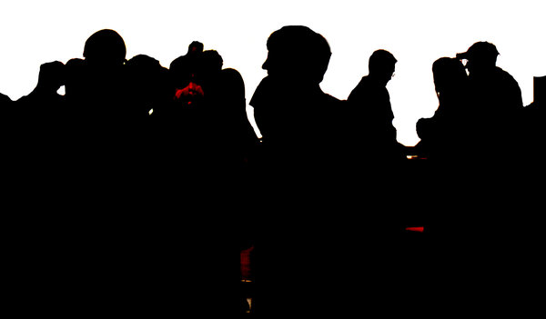 Crowd Silhouette: