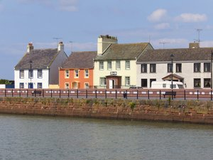 Colourful houses, Maryport