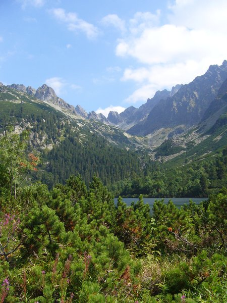 Landscapes of the High Tatras