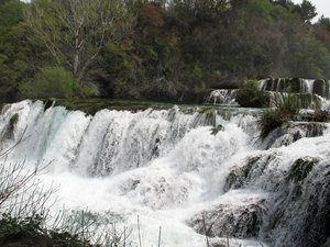 river krka waterfalls