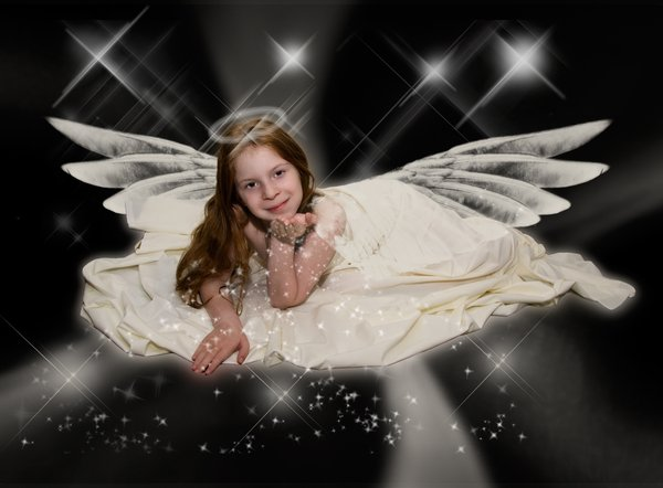 . . . Best Wishes . . .: . . . She's an angel . . .