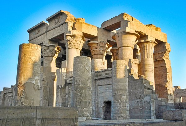 Old Egyptian temple