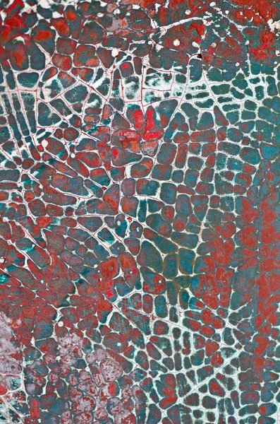 Cracked paint: cracked paint texture
