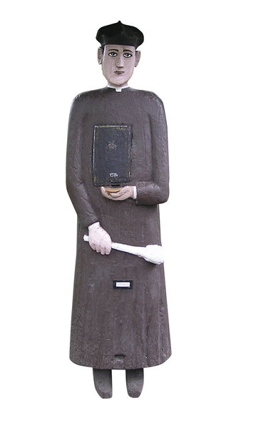 Wooden priest