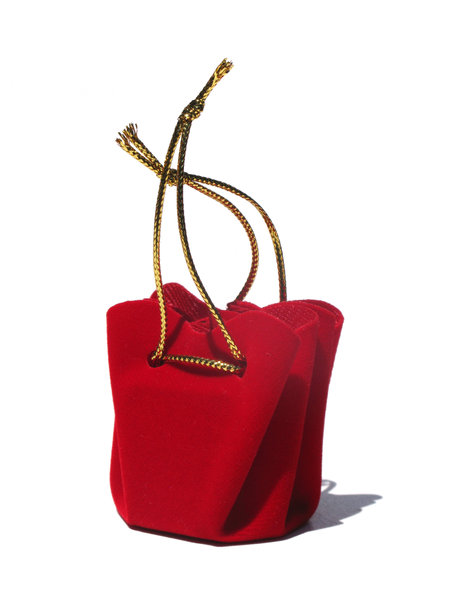 little red gift bag