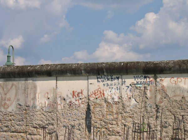 the berlin wall 2: the berlin wall (or what is still left of it)