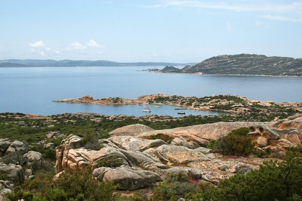 Sea and Coast 04: Coastal scenery of the Maddalena Islands, Sardinia.