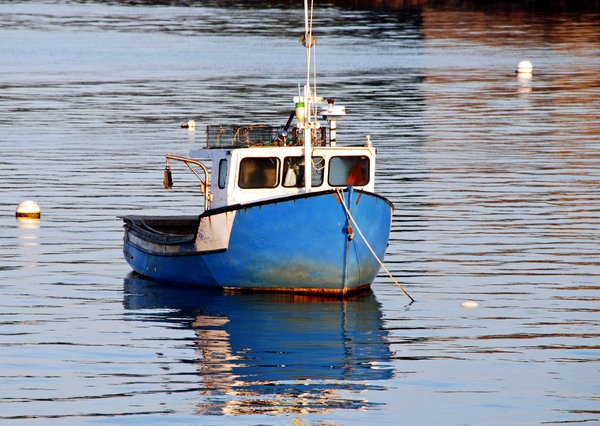 Lobster Boat: Lobster boat in Maine
