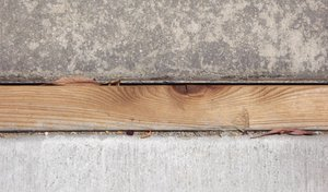 Wood Divided Concrete